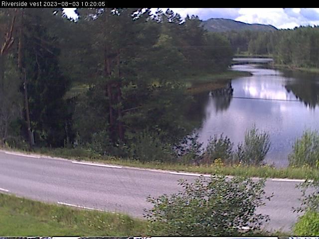 Webcam Riverside, Drangedal, Telemark, Norwegen